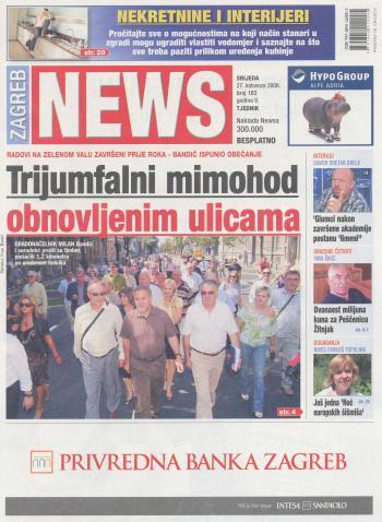 Milan Bandić na završetku radova na zelenom valu News