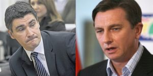 Zoran Milanovi vs Borut Pahor