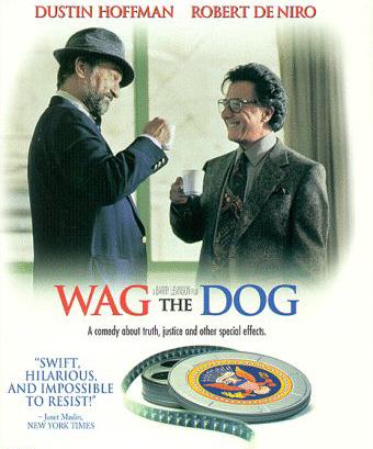 Manjgura DVD preporuka: Wag the dog (Predsjedničke laži)