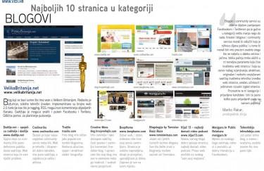 Manjgura u top 10 hrvatskih PR agencija, Manjgura.hr u top 10 blogova