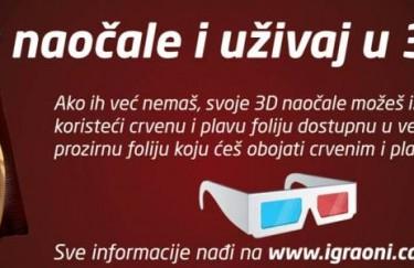 Prva televizijska 3D reklama u Hrvatskoj – Kraš Tortica