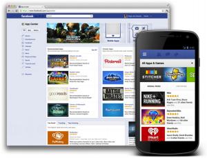 Facebook-App-Center-Mobile-View
