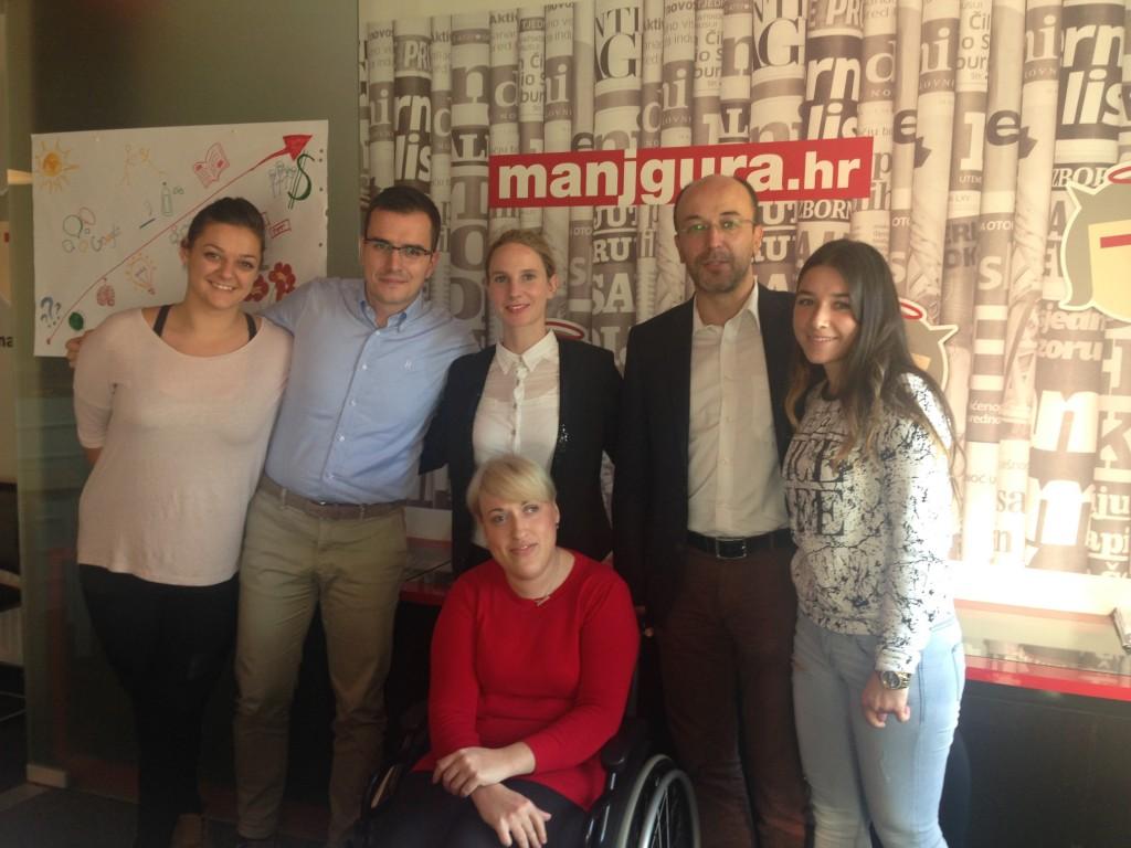 """Potpisivanje ugovora o provedbi programa provedbe stručne prakse za osobe s tjelesnim invaliditetom """"STARTUP"""""""