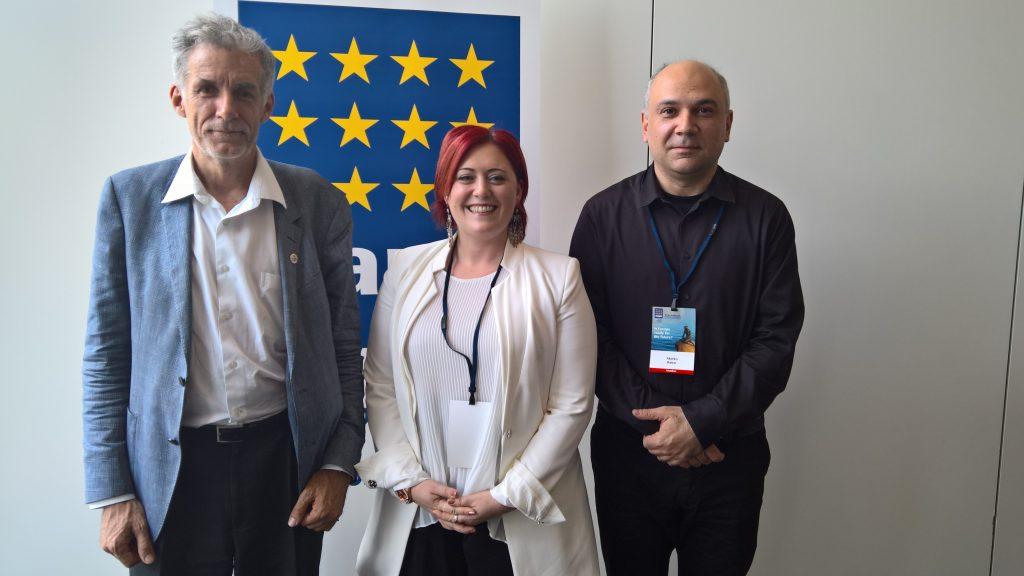 potpredsjednik Igor Mintusov (rusija), potpredsjednica Kristina Wilfore (Turska) i predsjednik EAPCa Marko Rakar (Hrvatska)