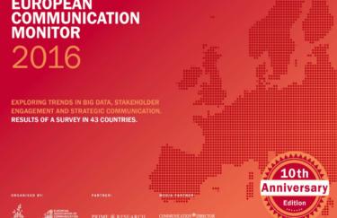 """Rezultati najopsežnijeg europskog istraživanja na području odnosa s javnošću """"ECM 2016"""""""