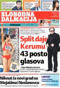 Anketa Pulsa daje Kerumu u Splitu 43% glasova