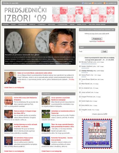 Predsjednički izbori 2009