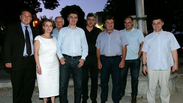 Kukuriku koalicija Kastav 15. srpnja 2009.