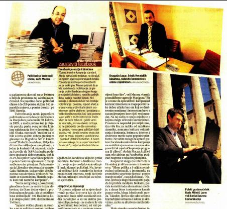 Poslovni dnevnik Krešimir Macan Facebook