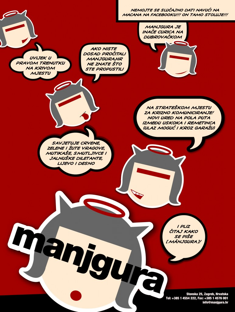 Manjgura znači curica