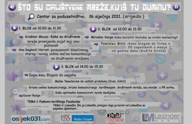 Što su društvene mreže, ku'iš tu duminu? – seminar u Osijeku