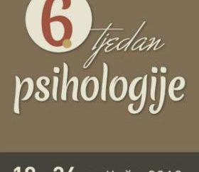 Ramiro i Manjgura pozivaju vas na besplatno predavanje u sklopu 6.Tjedna psihologije
