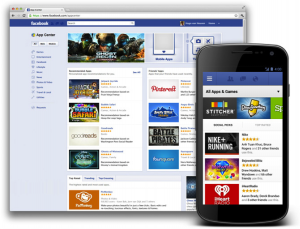 Facebook-App-Center-Mobile-View