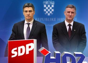 CRODemoskop: Sve veća prednost HDZ-a i desne koalicije
