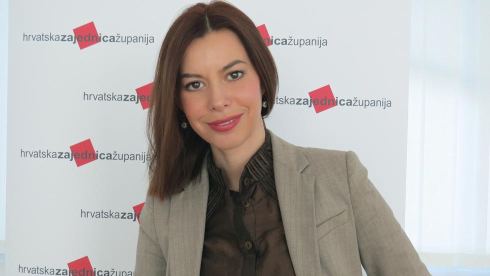 Foto: Kristina Mamić, voditeljica Odsjeka za protokol Zagrebačke županije