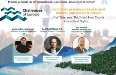 """Konferencija """"Challenges of Europe"""": inovativnost kao odgovor na izazove rasta i tržišta"""