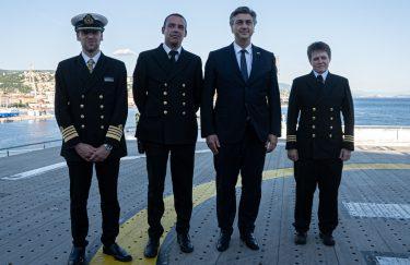 Hrvatski premijer Plenković posjetio je Scenic Eclipse: Želimo da se takvi brodovi grade u Rijeci