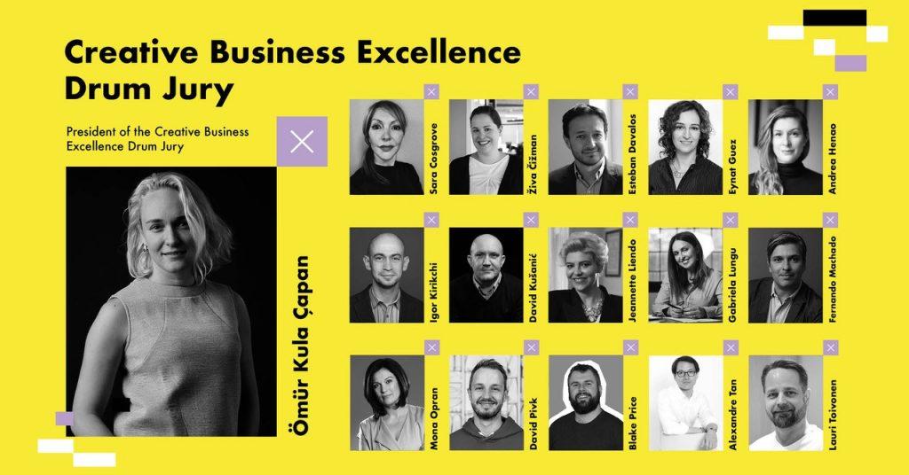 Žiri za kategoriju Kreativne poslovne izvrsnosti, izvor: Golden Drum